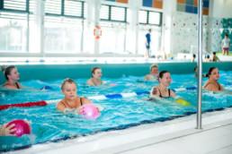 Ćwiczenia aqua fitnessu w Gdańsku